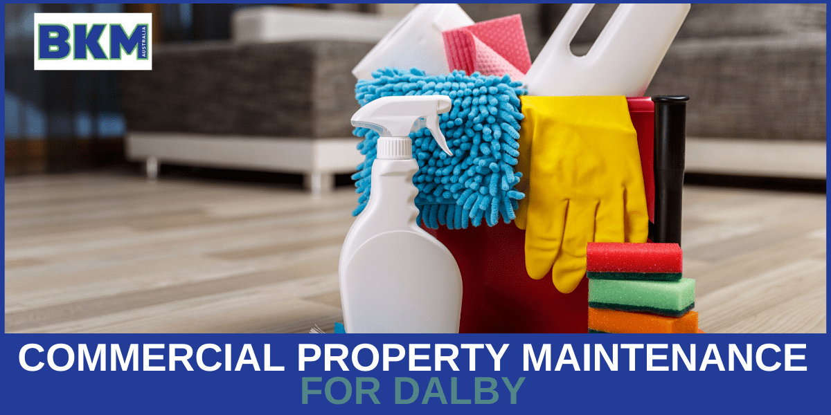 commercial property maintenance dalby